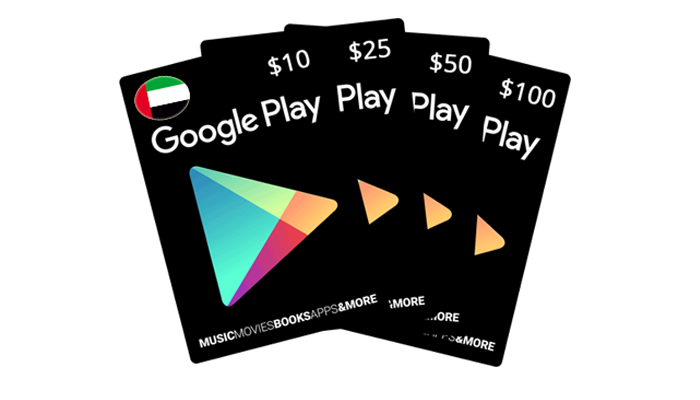 شراء جوجل بلاي اماراتي بسرعه و بطريقة آمنة ومضمونة و بأرخص الاسعار | ايزي باي فور نت
