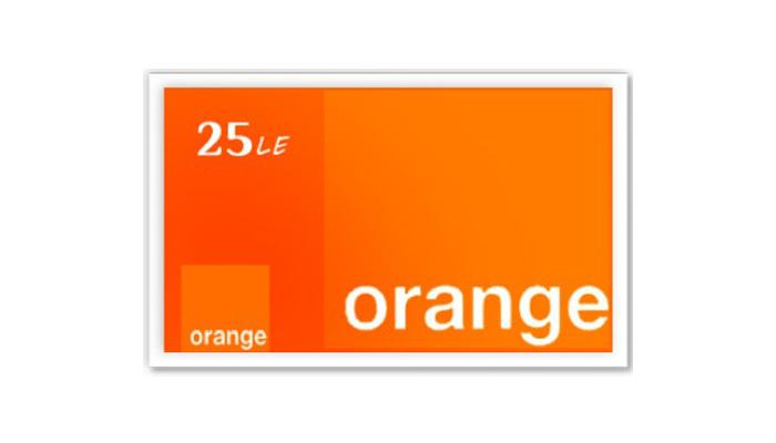 شراء كارت اورانج 25 جنية بسرعه و بطريقة آمنة ومضمونة و بأرخص الاسعار | ايزي باي فور نت
