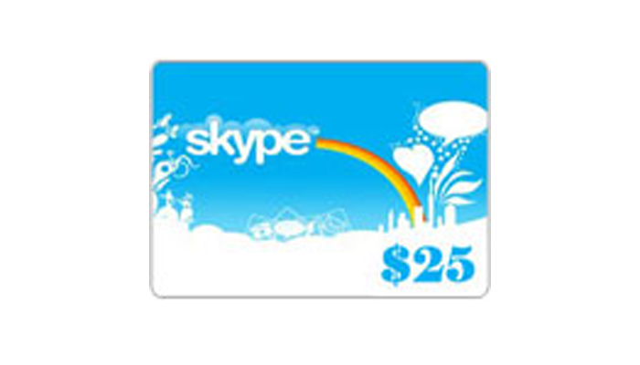 Buy Skype Card 25$ Cheap, Fast, Safe & Secured | EasyPayForNet