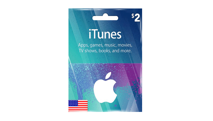 Buy iTunes USD 2 Gift Card Cheap, Fast, Safe & Secured | EasyPayForNet