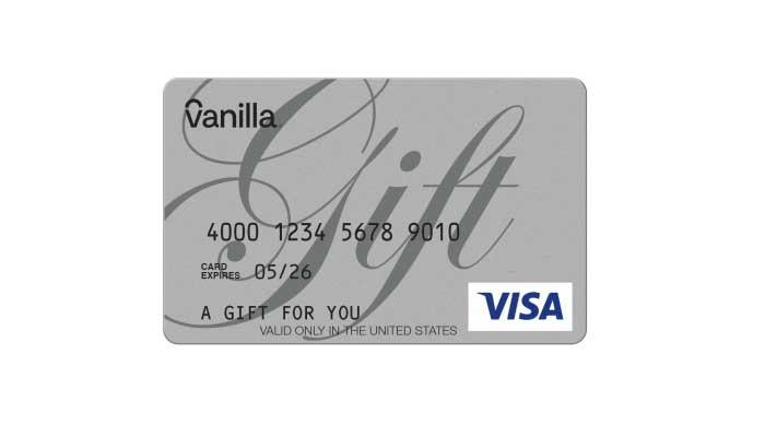 شراء فانيلا فيزا جيفت كارد 100 دولار بسرعه و بطريقة آمنة ومضمونة و بأرخص الاسعار | ايزي باي فور نت