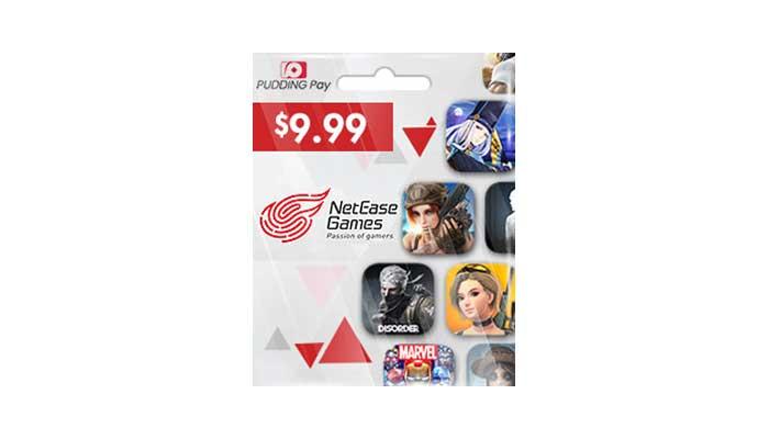 شراء بطاقة العاب (Netease Games) 9.99 دولار بسرعه و بطريقة آمنة ومضمونة و بأرخص الاسعار | ايزي باي فور نت